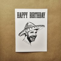 Shop this Drake Birthday Card Today!