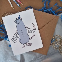 CongRATulations Greeting Cards Are Now Available via Etsy!